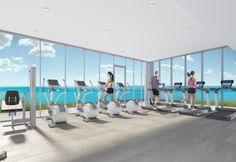 Nautique Health and Wellness Centre.  Nautique Lakefront Residences by Adi Development Group www.adidevelopments.com