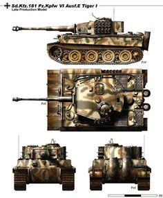 Sd.Kfz.181 PzKpfw VI Ausf. E Tiger I