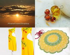 Sunny summer by Tetyana on Etsy--Pinned+with+TreasuryPin.com