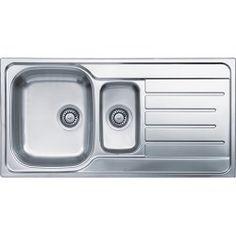 Reginox LEMANS1.5 1.5 Bowl Reversible Stainless Steel Sink