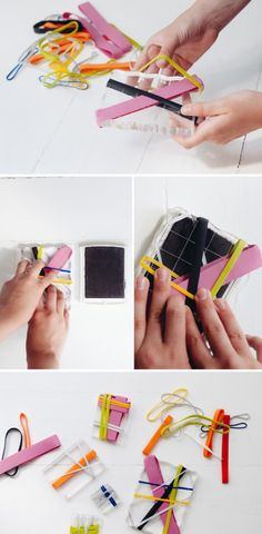 How-to make rubberband stamps