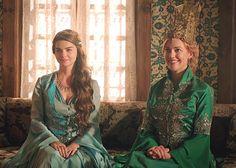 Mihrimah Sultan and Hürrem Sultan