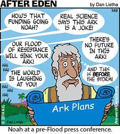 Noah at pre-Flood Press Conference