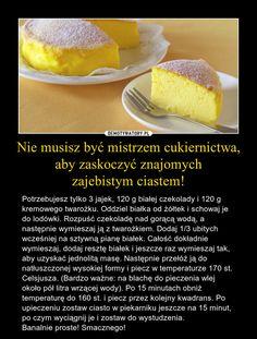 Nie musisz być mistrzem cukiernictwa, aby zaskoczyć znajomych zajebistym ciastem!