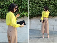 Love this outfit.  The pants are perfection!  From my second favorite blogger - Krystal at This Time Tomorrow.