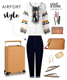 """""""Airport Style"""" by musicfriend1 ❤ liked on Polyvore featuring Lana Jewelry, MICHAEL Michael Kors, Dodo Bar Or, Collectif, INC International Concepts, Urban Decay, Clinique, lovethis and airportstyle"""