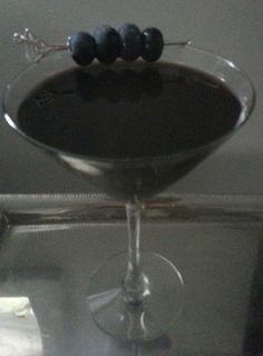 Berry Scary Martini