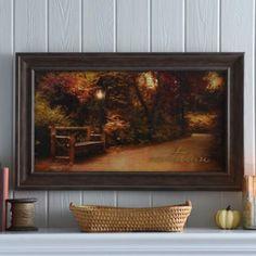 Hello Autumn Framed Art Print   Kirklands