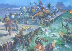 When Cortés left Tenochtitlan in May 1520, he was the practical if not titular ruler of a great empire. When he returned in June, he was fish bait. He desperately tried to regain his former position, but to no avail. His people were prisoners, cut off from food, water and escape routes. Every day they went out to plead for peace or fight for control of the causeways, but for every Aztec they killed, 10 more appeared. The Aztecs destroyed the bridges to prevent the Spaniards' escape.