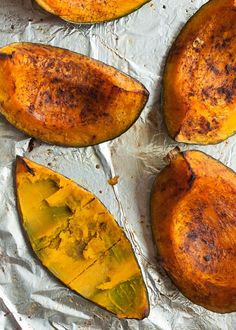 Cooking Basics: Roasted Kabocha Squash with Cinnamon - This wonderful, simple technique also works with pumpkin, butternut, acorn -- any hard squash, really.