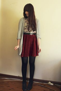 Cream-car-print-glamorous-shirt-crimson-skirt_400