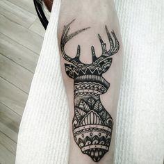 deer mandala love this