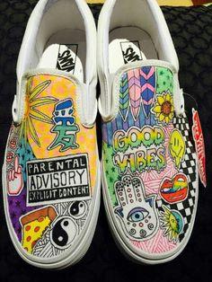 de6a3b02ae092c pinterest  peachesbitch 🦋🍒 Cool Vans Shoes