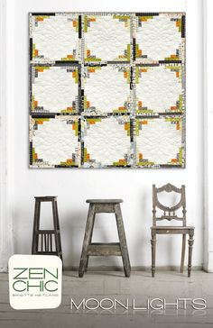 Zen Chic - Moonlights - Quilt Pattern - MLQP