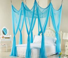20 Whimsical Girls Full Canopy Beds Fit for a Princess More