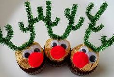 Image result for ferrero rocher knitted christmas pudding