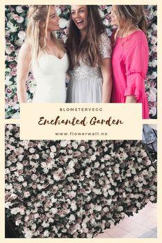 Skal du gifte deg, holde et selskap eller arrangere et event? Lei en fantastisk blomstervegg som er garantert å få oppmerksomhet fra gjestene!  #flowerwall #bryllup #blomstervegg Enchanted Garden, Bridesmaid Dresses, Wedding Dresses, Flower Wall, Sequin Skirt, Blush, Sequins, Skirts, Flowers