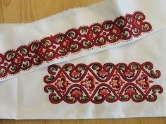 Folk Embroidery, Cool Outfits, Knitting, Folklore, Womens Fashion, Lace, Norway, Ethnic, Crafts