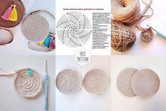 Marvelous Crochet A Shell Stitch Purse Bag Ideas. Wonderful Crochet A Shell Stitch Purse Bag Ideas. Crochet Clutch, Crochet Handbags, Crochet Earrings, Crochet Bags, Easy Crochet Projects, Easy Crochet Patterns, Crochet Shell Stitch, Round Bag, Jute Bags