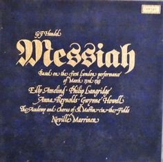 G.F. Handel  Messiah Based On The First London by DorenesXXOO