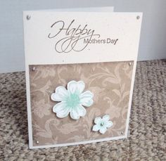 Rustic Mother's Day Happy Mother's Day by WhiteFamilyCrafts