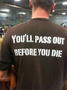 when im a personal trainer, i will have this shirt! :)