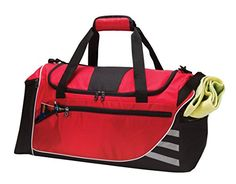 110500b12263 Travelwell UnisexAdult Light Weight Carry on Sport Travel Gym Duffel Bag  with Cooler -- For