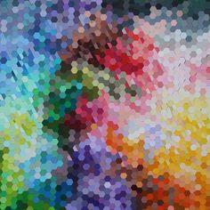 Josie Lewis Hexagon Collage