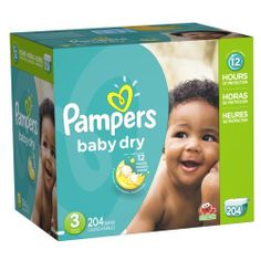 Pampers Baby Dry Diapers Size-3 Economy Pack Plus, 204-Count by Pampers, http://www.amazon.ca/dp/B00DDMJ454/ref=cm_sw_r_pi_dp_Yt0rtb1QW6M67