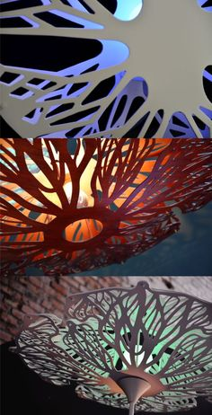 System Design Studio - Product - Vegetal Lamps: