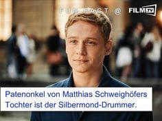 """Irgendwie kennen sich alle """"in der Szene"""" :-)   #funfact #matthiasschweighöfer #silbermond"""