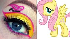 My Little Pony's Applejack makeup tutorial - YouTube