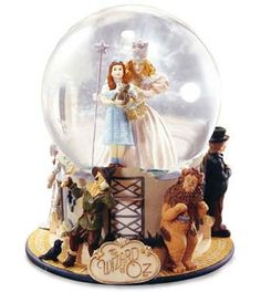wizard of oz music box globe