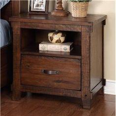 Legends Furniture Restoration Restoration Nightstand