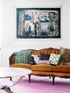 10 Unusual Color Combos That Really Work   Apartment Therapy caramel and pink