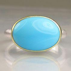 December Birthstone Rare Arizona Turquoise Ring Turquoise women jewelry SLEEPING BEAUTY TURQUOISE Ring Handmade jewelry