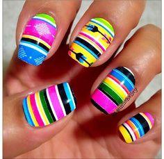 Our social Trends Aztec Nail Designs, Maroon Nail Designs, Aztec Nail Art, Tribal Nails, Rodeo Nails, Camo Nails, Minimalist Nails, Garra, Fancy Nails