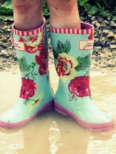 rainboots by victoria