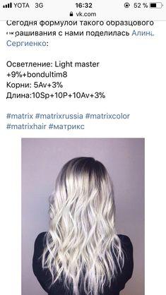 Matrix Formulas, Matrix Hair Color, Hair Color Formulas, Hair Color Techniques, Bayalage, Hair Beauty, Hairstyle, Spa, Google