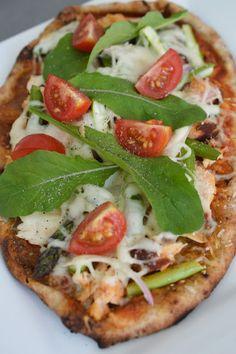 Lili popotte: Pizza au saumon fumé et aux asperges