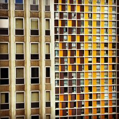 muitas janelas...