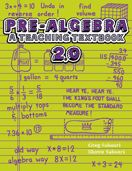 Pre-Algebra Teaching Textbook (A Life Saver for Real, He couldn't cope with Saxon, ...Fred wasn't going to work with this one either, This one he likes and will willingly do for hours if need be. That has Never happened with this child before.And their tech online IMing was so polite/patient/good, this wouldn't have happened with out them.