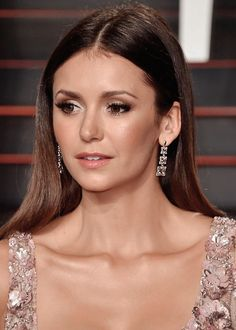 Nina Dobrev attends the 2016 Vanity Fair Oscar Party Hosted By Graydon Carter at the Wallis Annenberg Center for the Performing Arts on February 28, 2016 in Beverly Hills, California