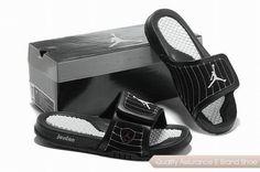 8ba15d6fcc666d nike air jordan 14 retro black white hydro slide sandals sneakers p 2491