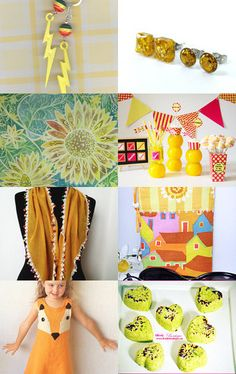Yellow by Rhian on Etsy--Pinned with TreasuryPin.com
