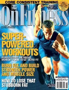 """This mag.has the best training and nutrition info. right from the experts--no fluff!  Check out my feature """"Super-Powered Workouts"""" in the March/April issue!"""