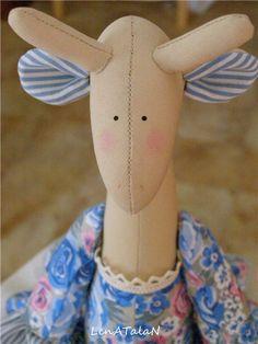 "Workshop: Teiera Doll Warmer - giraffa ""Rosalie"" - Fiera Masters - fatto a mano, fatto a mano"