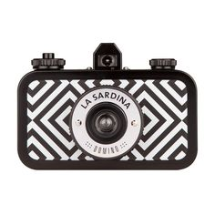 La Sardina Camera - Domino - La Sardina Kameras - Kameras - Lomography... (£76) ❤ liked on Polyvore featuring camera, fillers, accessories, other and extras