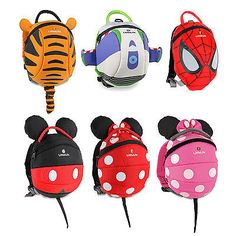LittleLife Toddler Child Disney Animal Daysack Backpack Inc Safety Rein
