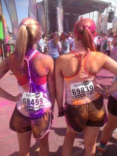 color run!!